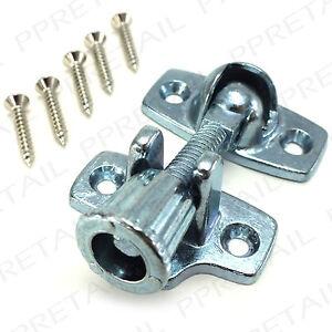 SILVER-SASH-WINDOW-FASTENER-BRIGHTON-LEVER-LOCK-Twist-Arm-Catch-Wood-Frame-Fix