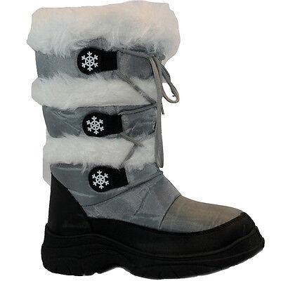 **  MENS LADIES KIDS SNOW BOOTS WATERPROOF THERMAL WELLINGTONS FUR WINTER WOMENS