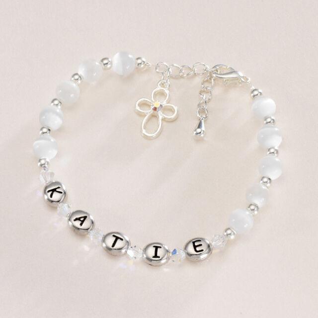 Geschenk Verpackt Heilige Erstkommunion Armband für Ein Junge Auch Taufe Oder