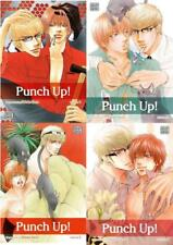 Shiuko Kano PUNCH UP! Explicit LGBT MANGA Series Collection Set of Books 1-4