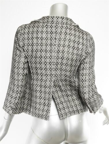 Blazer Short Sheer 0 2 Jacket Pattern Womens Jacobs Black Knit Gray Marc button xFfSvfq