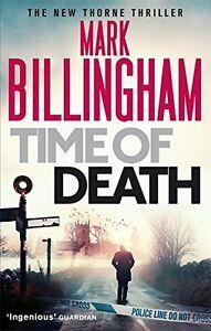 Mark-Billingham-Time-Of-Death-Tout-Neuf-Livraison-Gratuite-Ru