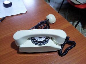 VINTAGE-TELEFONO-A-DISCO-SAFNAT-MILANO-USATO-FUNZIONANTE