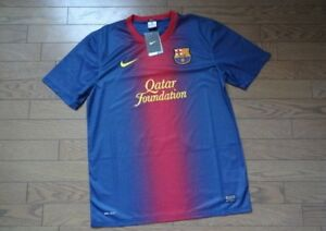 5d2cc28c8b7 FC Barcelona 100% Original Tee Shirt L 2012/13 Home Kit Still BNWT ...
