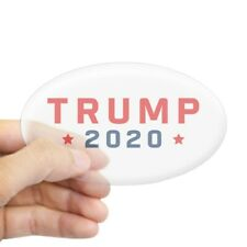 2020278057 CafePress Trump /'20 Oval Bumper Sticker Euro Oval Car Decal