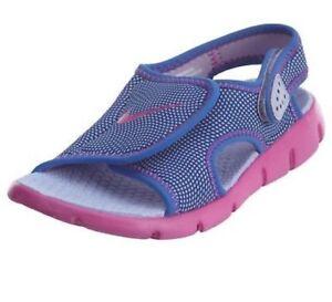 0afb0ca9f884 Image is loading Nike-Sunray-Adjust-Hydrangeas-Fire-Pink-Comet-Blue-