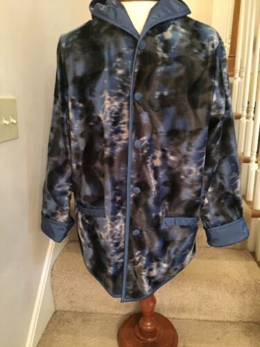 Atlantic Beach Womens L Reversible Hooded Jacket i