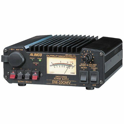Alinco DM-330MVT Compact Power Supply 32A Max 5-15VDC. Available Now for 184.95