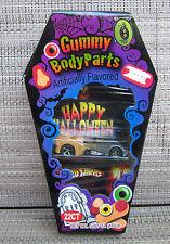 Hot Wheels  CUSTOM BATMOBILE in Halloween Candy Box!!!