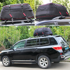 Image Is Loading Waterproof Roof Top Cargo Bag Large Travel Storage