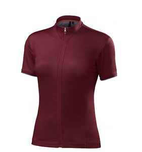 Specialized Roubaix Comp Short Sleeve Jersey Burgundy Women's M NEW