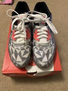 wholesale dealer 665e4 68c68 Image is loading Nike-Air-Max-90-Ice-Dark-Grey-White-