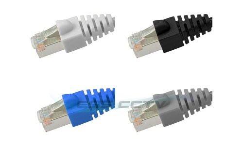 10 lot 100 FT CAT5e RJ45 Patch Ethernet Network LAN Cable white//blue//grey//black