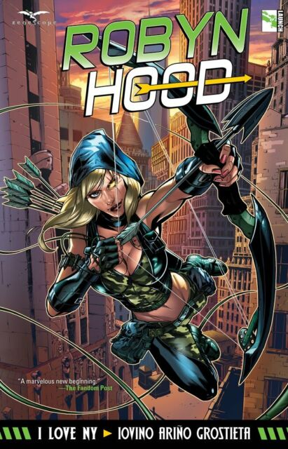 Grimm Fairy Tales TPB Robyn Hood I Love NY * Softcover Graphic Novel * Zenescope
