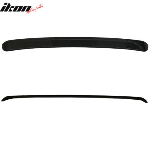 Fits 13-17 Lexus GS WD Style Painted Sport Roof Spoiler Wing #212 Obsidian Black