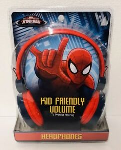 Marvel-Spider-Man-Kid-Safe-Volume-Headphones-New-Gift