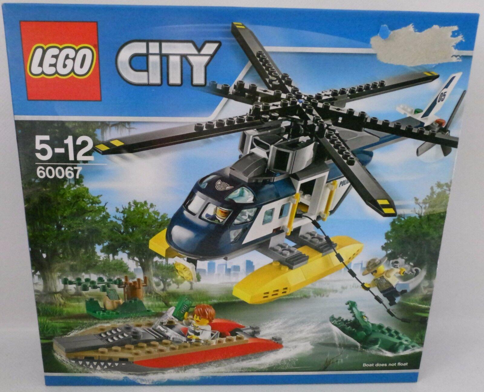 NEUF  LEGO ® City 60067 course poursuite en hélicoptère  OVP