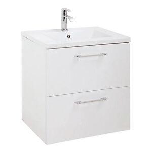 24 Inch Modern Bathroom Vanity Set Happy Floating Wall Mounted 2 Drawers Ebay