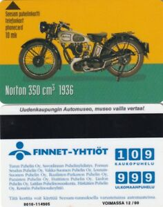 Finland Magnetic Phonecard Motorcycle Used 1 Ebay