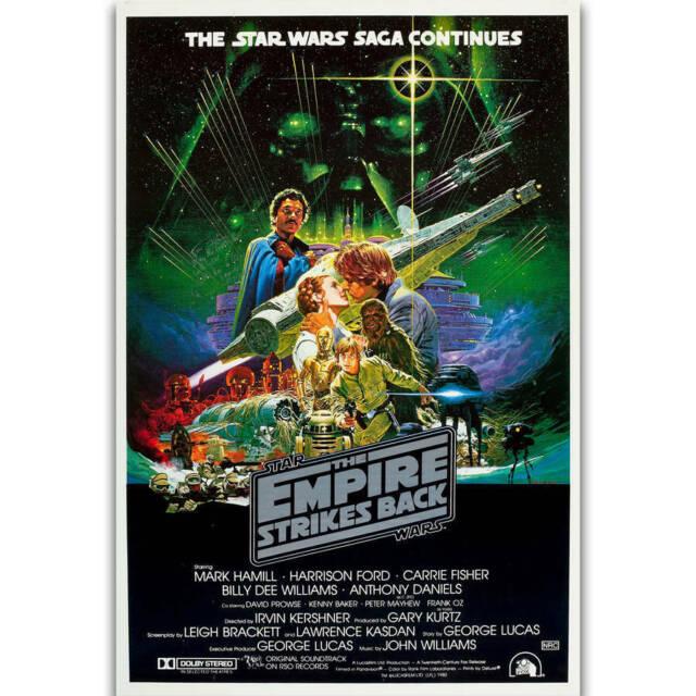 STAR WARS EMPIRE STRIKES BACK Movie Art Silk Poster 12x18 24x36