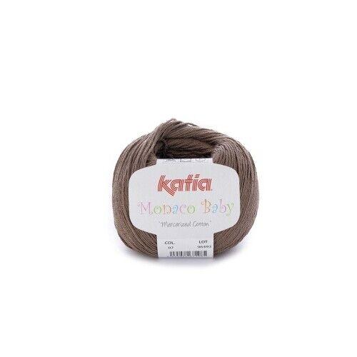 170 m Wolle MARRÓN MONACO BABY von Katia 7 - 50 g // ca