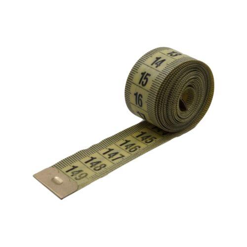 Dickes Maßband Messband in cm 1,5m lang große Zahlen Schneider Bandmaß Rollmeter