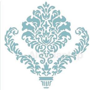 das bild wird geladen wandschablone schablonen muster fuer wand dekor - Muster Fur Wand