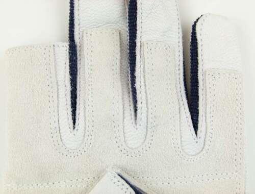 9 Roadie Bühnenbau Leder Handschuhe Arbeitshandschuhe Rigger Gloves Gr M