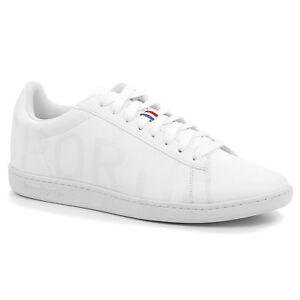 Scarpe-Le-Coq-Sportif-1910289-Courtset-Big-Logo-Bianco-Moda-Sneakers