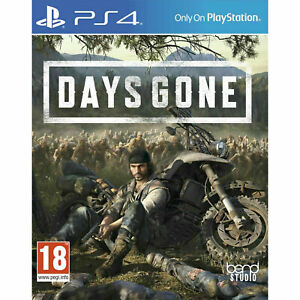 Days Gone PS4 PLAYSTATION New and Sealed UK VERSION IN STOCK NOW