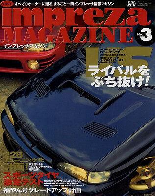 [BOOK] SUBARU IMPREZA magazine No.3 22B sti WRC 555 WRX Japan