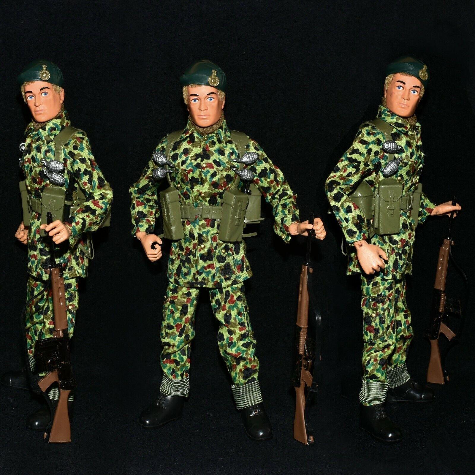 Acción Man Vam PaliJuguete sin usar perfecto combate Marina Real 12  figura c1980-84