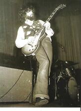 """LED ZEPPELIN  bearded Jimmy with Gibson magazine PHOTO / mini Poster 11x8"""""""