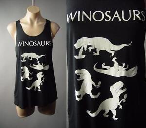 Winosaur Dinosaur Wine Alcohol Drink Funny Pun Punny Tank Top 186 Mv Shirt S M L Ebay
