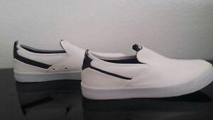 New-Balance-AM101WHT-Fresh-Foam-White-Black-Men-Women-Shoes-Slip-On-8-5