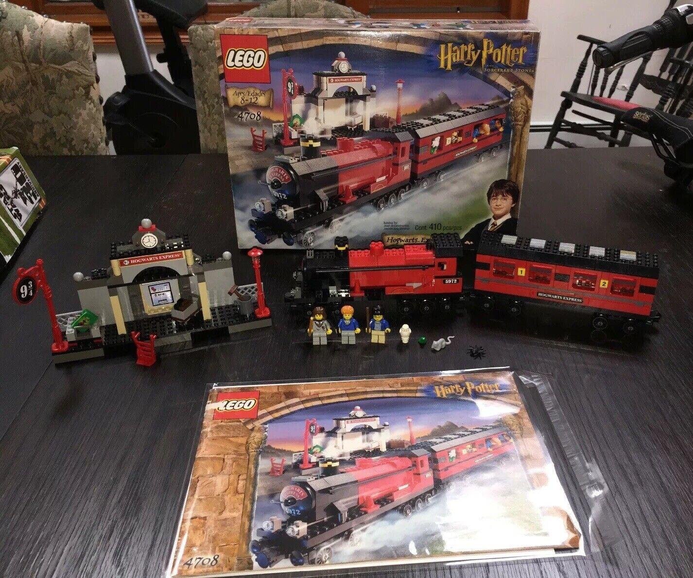 4708 Lego Harry Potter Hogwarts Express Completo Con Caja Y Manual Mini Figuras