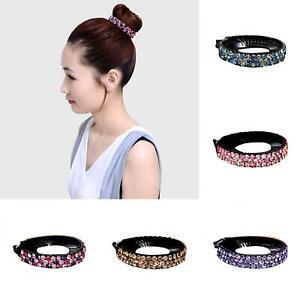 KQ-FT-KF-Women-Rhinestone-Inlaid-Twist-Clip-Hairpin-Hair-Bun-Claw-Headwear-Ac