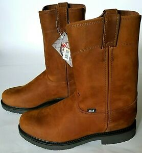 b7c258a1d9a Details about Justin Original Work Boots Mens Double Comfort 4794 Brown  Size 11.5(EE) Wide