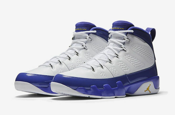9c5341812e Air Jordan 9 Retro Kobe PE Lakers Size 3.5-18 White Yellow Concord  302370-121 IX ntifcr8932-Athletic Shoes