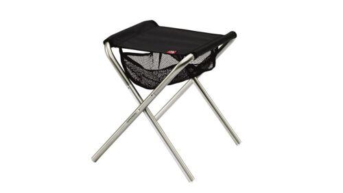 "Robens TRAILBLAZER STOOL /""Silver Grey/"" Folding Lightweight Stool with Carrybag"