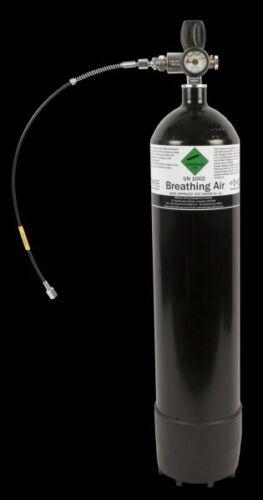 300 Bar Airgun PCP Bottle Air rifle Charging Cylinder with hose /& gauge