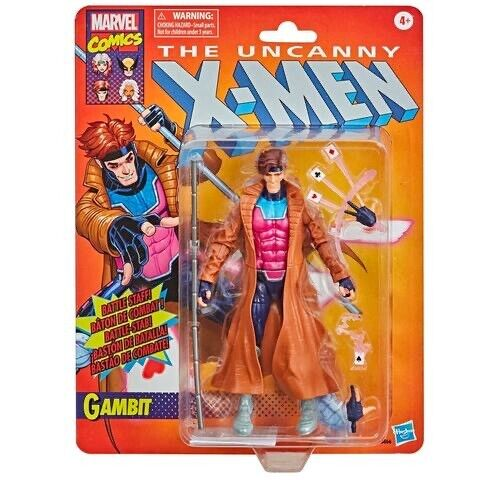 """Marvel Legends X-Men Retro Gambit Vintage Collection 6"""" Hasbro  IN HANDS"""