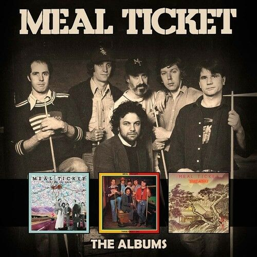 Meal Ticket:albums - 3 DISC SET - Meal Ticket (2017, CD NEUF)