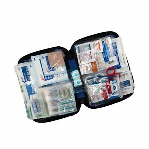 First Aid Emergency Kit Soft Case Travel Camp Car Boat Home Backpack 299 Pieces