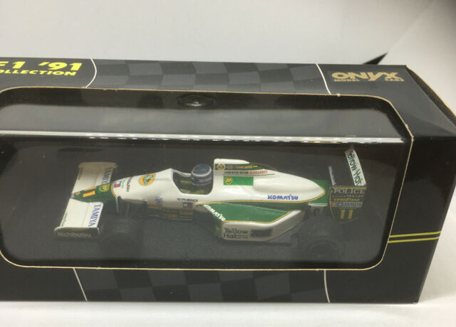 Onyx 1/43 Scale Model Car 130 - F1 '91 Lotus Judd 102B - Mika Hakkinen