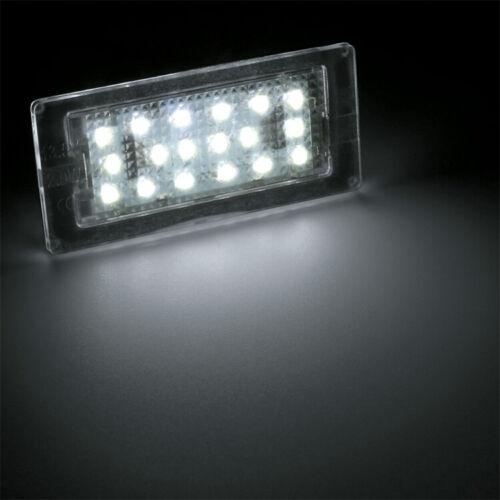 105 DEL plaque d/'immatriculation éclairage éclairage BMW 3er e46 Cabriolet Coupé 98-03