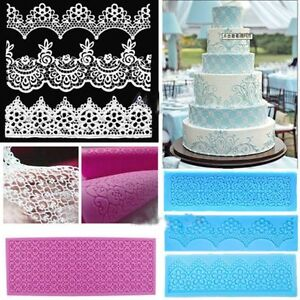 lace moulds for wedding cakes lace silicone mold mould sugar craft fondant mat cake 16689