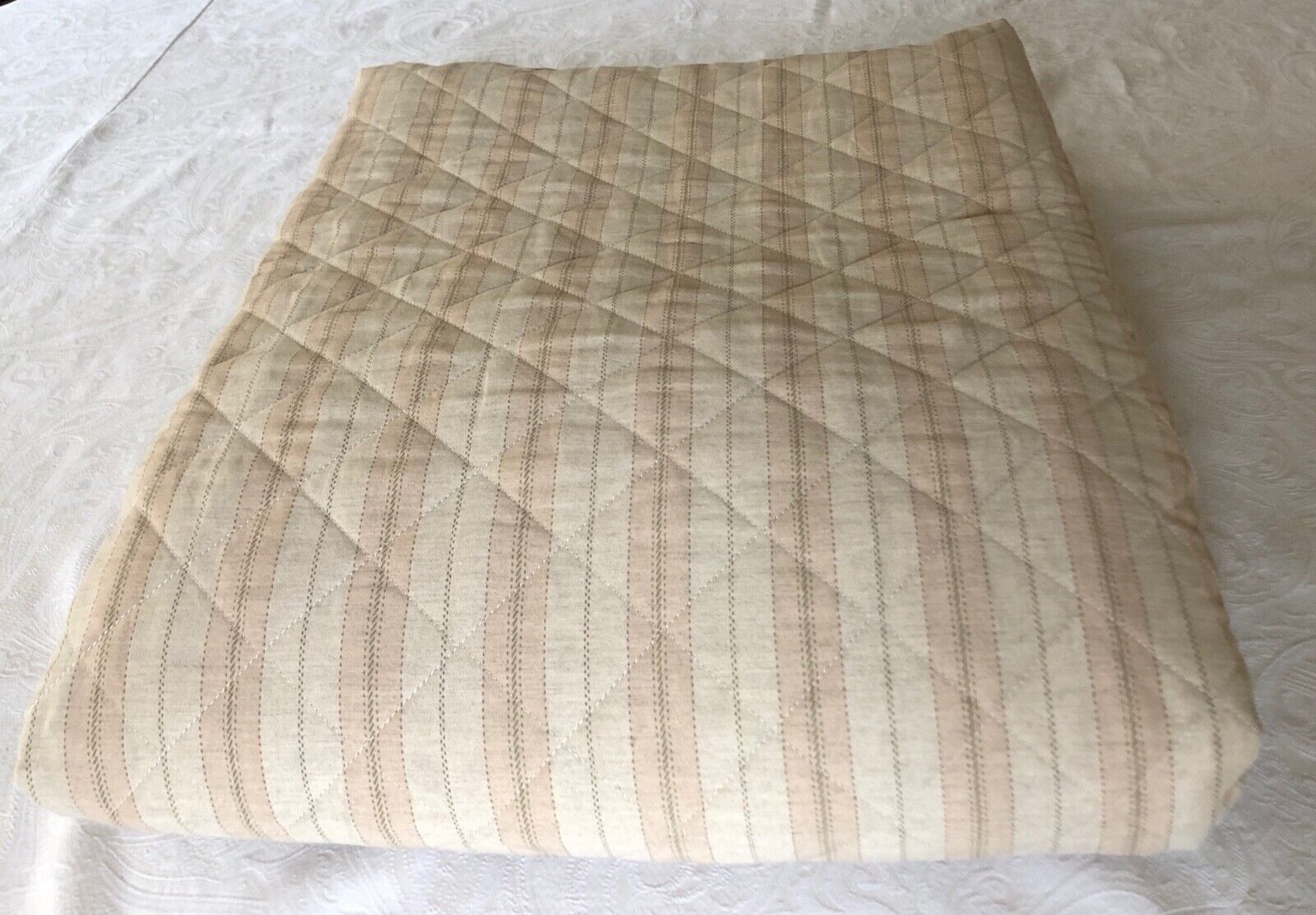 RH Restoration Hardware Baby & Kids Jardin Stripe Full Königin Quilt New