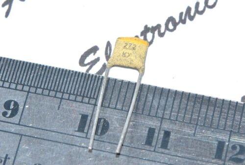 2700pf 2,7 Nf 10 Piezas-Philips 2700p yl 100v P 5 Mm Class1 Cerámica Capacitor