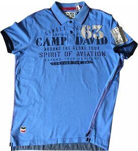 new arrive detailed pictures closer at Details zu NEU Herren Poloshirt Camp David AVIATION Shirt Polo kurzarm M -  XXXL
